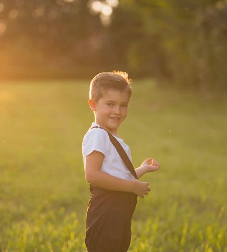 servizio fotogarfico bambini